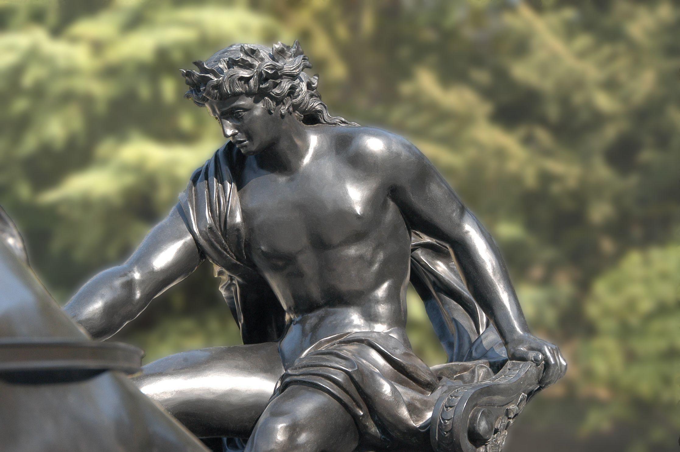 Fontaine Apollon_Bronze 06