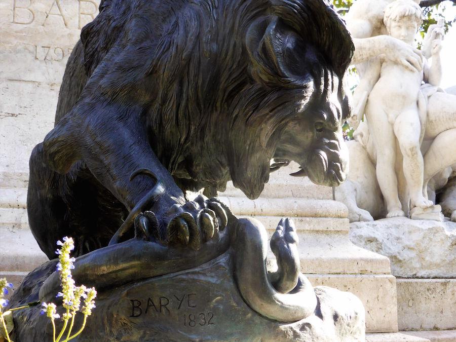 06 Barye Lion au serpent